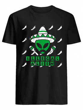 Martian Illegal Alien Mexican Area-51 Funny Halloween Gift shirt