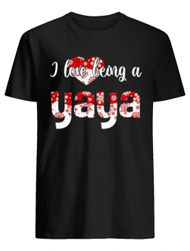 Merry Christmas I Love Being A Yaya Gift For Xmas T-Shirt