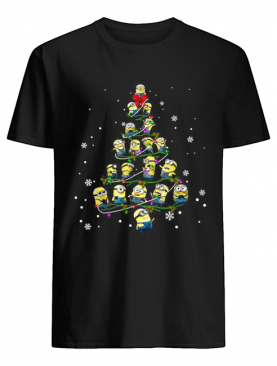 Minion Christmas tree shirt