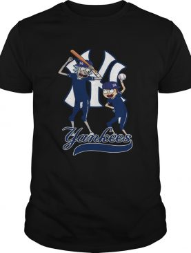 Official Rick and Morty New York Yankees Shirt