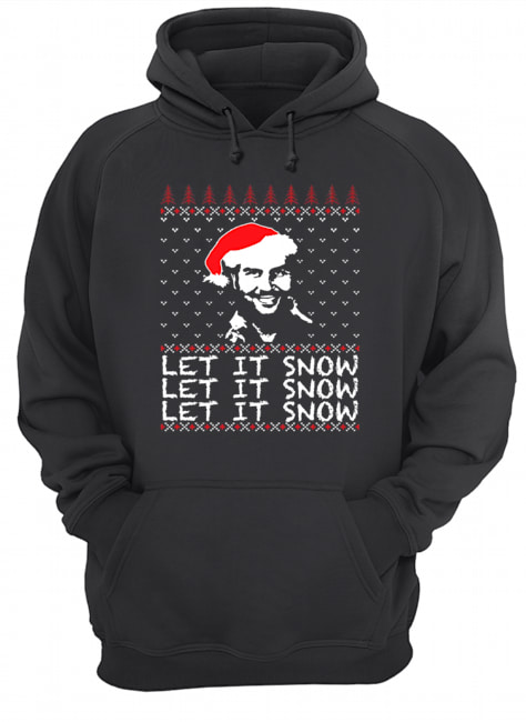 Pablo Escobar let it snow Christmas ugly  Unisex Hoodie