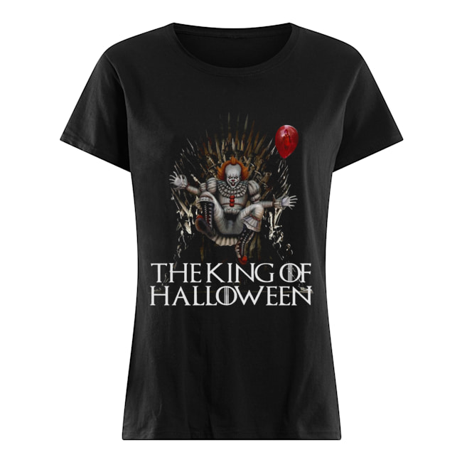 Pennywise The King Of Halloween Classic Women's T-shirt