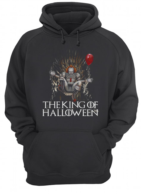Pennywise The King Of Halloween  Unisex Hoodie