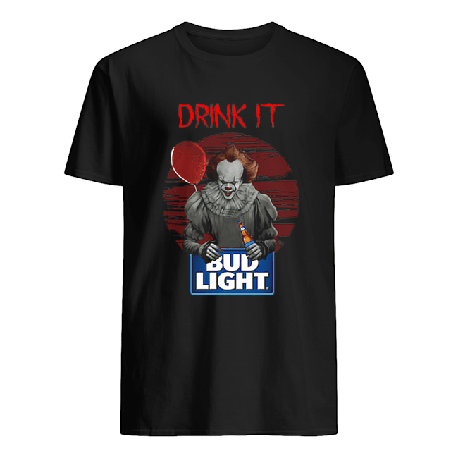 Pennywise drink IT Bud Light Shirt Classic Men's T-shirt