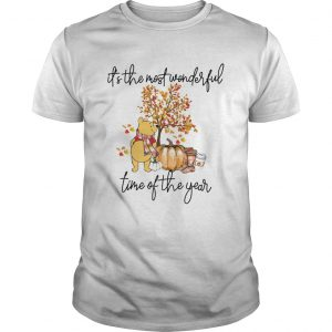 Pooh Pumpkin Its the most wonderful time of the year  Unisex