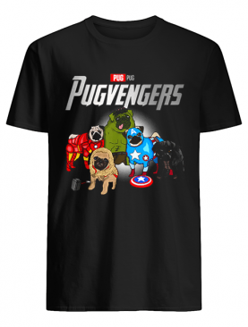 Pug Dog Lover Gift Pugvengers For Women Men Fans shirt