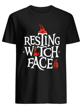 Resting Witch Face Shirt Original Halloween Shirt