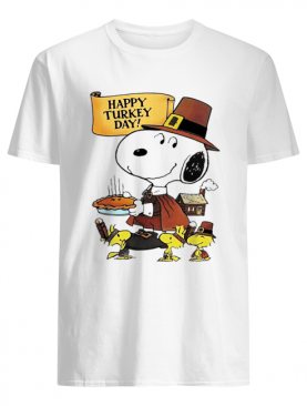 Snoopy happy Turkey day shirt