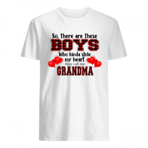 So, there are these boy who kinda stole my heart they call me grandma T-Shirt Classic Men's T-shirt