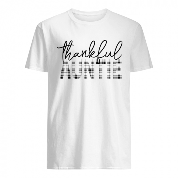 Thanksgiving Thankful Auntie Funny Mimi Gift T-Shirt Classic Men's T-shirt