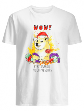 Very Sparkle Much Presents Doge Christmas T-Shirt