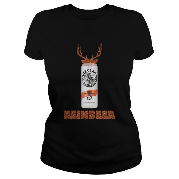 White Claw Ruby Grapefruit Sparkling Reinbeer Christmas Shirt Classic Ladies