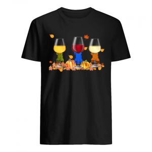Wine Auturn Vibe Funny Wine Lover T-Shirt Classic Men's T-shirt