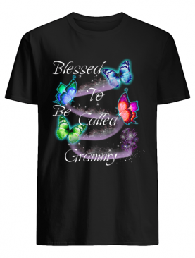 Women Mom Blessed To Be Called Grammy T-Shirt