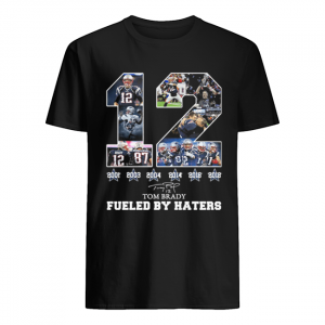 12 Tom Brady 6th Super Bowl fueled by Haters  Classic Men's T-shirt