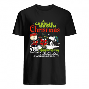 A Charlie Brown Christmas 50th Anniversary 1969-2019 signature  Classic Men's T-shirt