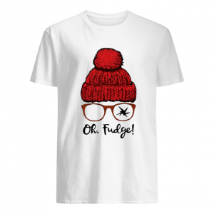 A Christmas Story Ralphie Oh Fudge  Classic Men's T-shirt