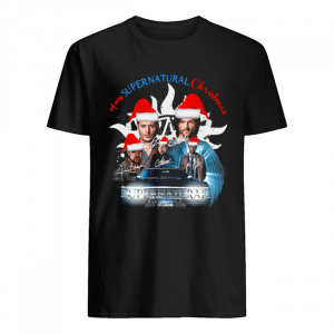 A Very Supernatural Christmas Signatures  Classic Men's T-shirt