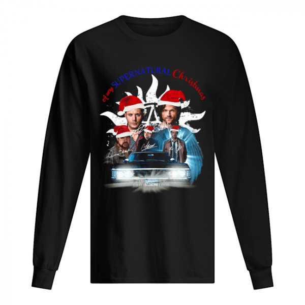 A very Supernatural christmas  Long Sleeved T-shirt