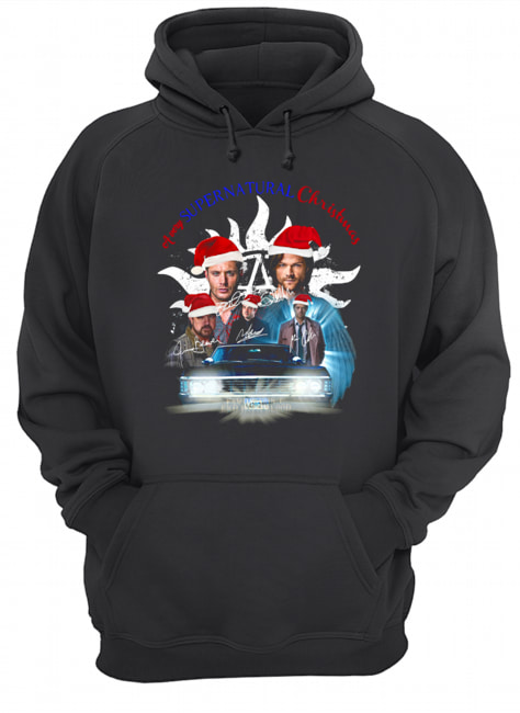 A very Supernatural christmas  Unisex Hoodie