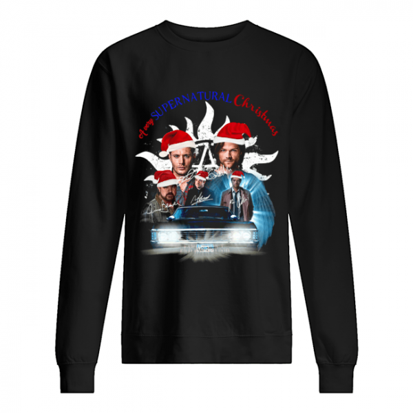 A very Supernatural christmas  Unisex Sweatshirt