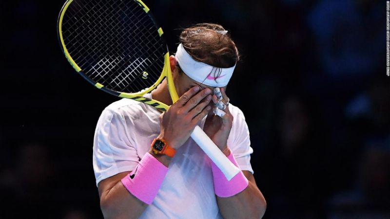 ATP Finals Rafa Nadal saves match point to beat Daniil Medvedev in US Open rematch