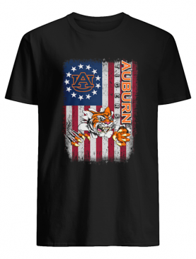 Auburn Tigers Betsy Ross flag shirt