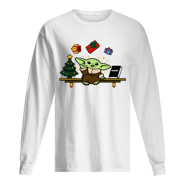 Baby on the Shelf – Baby Yoda Long Sleeved T-shirt