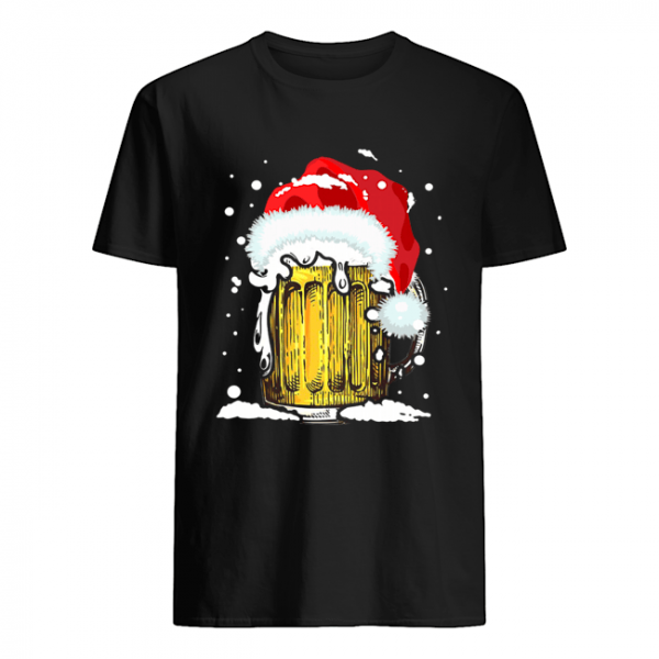 Beer Santa Ugly Christmas  Classic Men's T-shirt