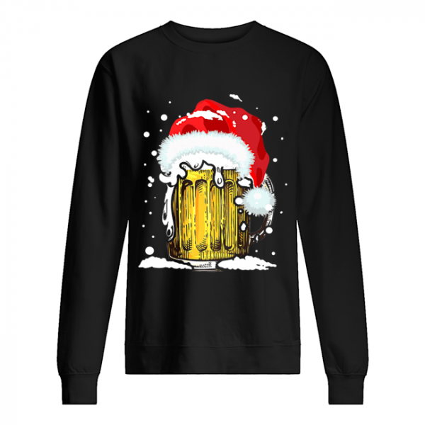 Beer Santa Ugly Christmas  Unisex Sweatshirt