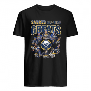 Buffalo Sabres All-time Greats Players Signatures  Classic Men's T-shirt