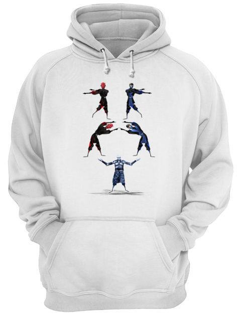 Darth Maul and Sub-Zero Fusion Night King  Unisex Hoodie