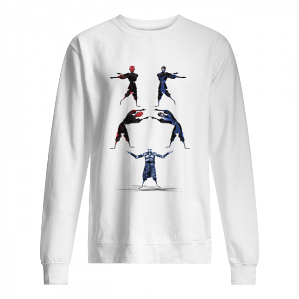 Darth Maul and Sub-Zero Fusion Night King  Unisex Sweatshirt