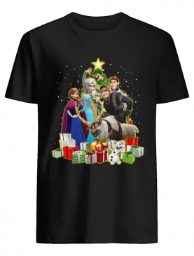 Disney Frozen Characters Merry Christmas Gifts shirt
