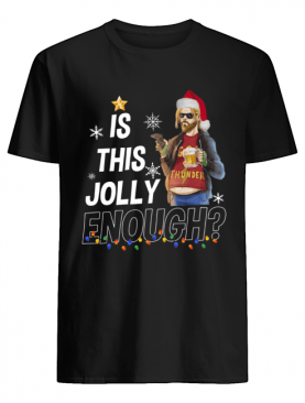 Fat Thor is this jolly enough christmas shirt