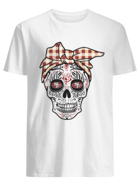 Francisco 49ers Sugar Skull shirt