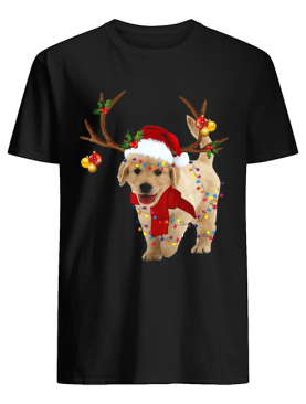 Golden Retriever Gorgeous Reindeer Crewneck shirt
