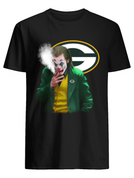 Green Bay Packers Joker smoking shirt