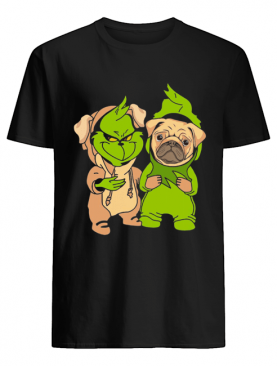 Grinch and pug shirt