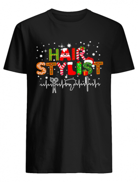 Hair Stylist Merry Christmas shirt