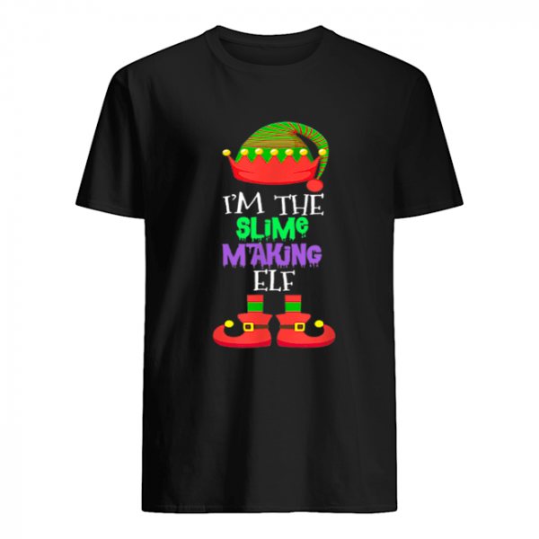 I'M THE Slime Making ELF Christmas Xmas Elf Group Costume  Classic Men's T-shirt