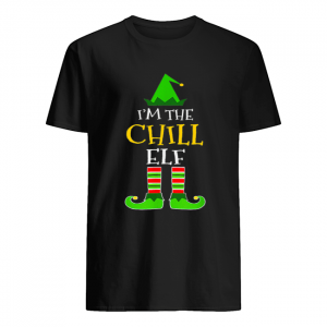 I'm The Chill Elf Matching Family Group Christmas  Classic Men's T-shirt