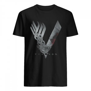 King Ragnar Lothbrok Vikings  Classic Men's T-shirt