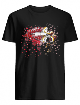 Lips Washington Nationals Washington Redskins shirt
