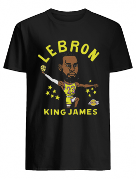 Los Angeles Lakers LeBron James 23 shirt