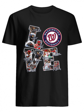 Love Nationals League Signature Shirt