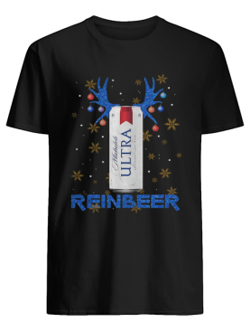Michelob Ultra Superior Light Beer Reinbeer Christmas shirt