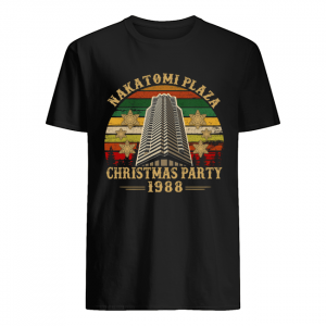 Nakatomi Plaza Chirtmast Party 1988 Vitage Shirt Classic Men's T-shirt
