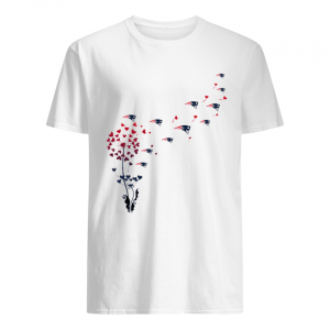 New England Patriots dandelion flower  Classic Men's T-shirt