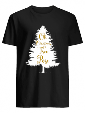Oh Christmas Tree Pose Song Yoga Workout shirt